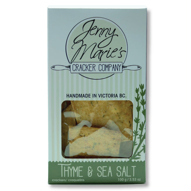 Thyme & Sea Salt Crackers - The Makers