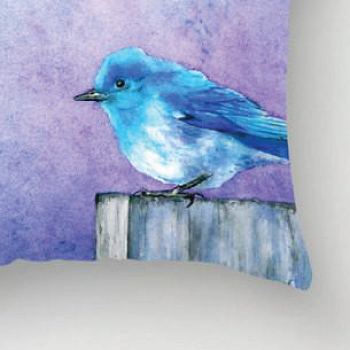 Bluebird Bliss - Pillow Case - Throw Pillow - ShopTheMakers.com