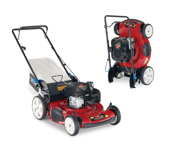 "22"" SMARTSTOW High Wheel Push Recycler Mower 21329"
