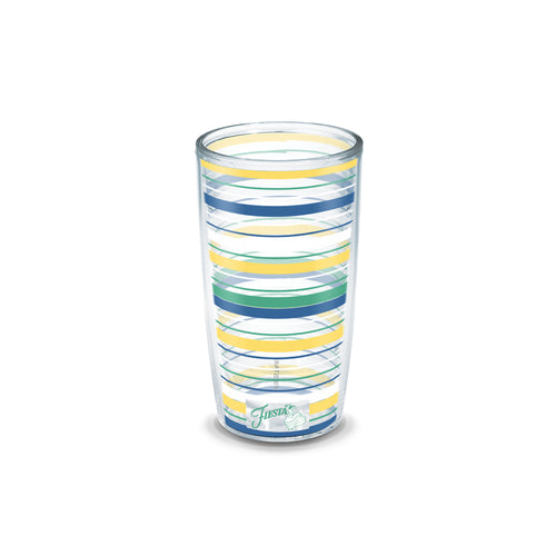 Fiesta® Stripes Meadow 16 oz Tumbler