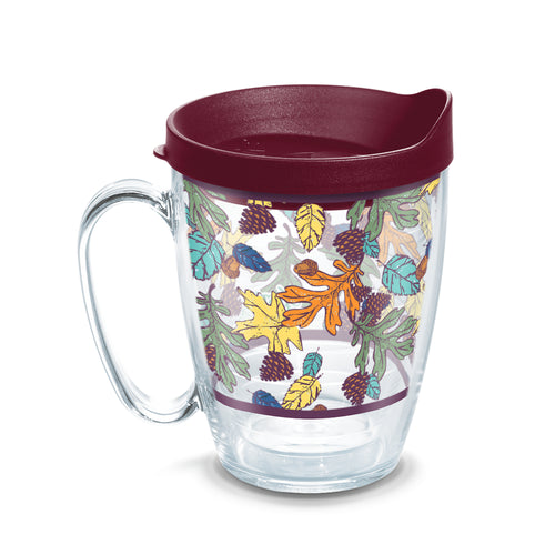 Fiesta® Butterscotch Fall Mug 16oz with Lid