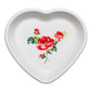 Medium Heart Bowl Floral Bouquet - Fiesta Factory Direct