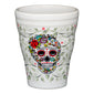 Bathroom Tumbler SKULL AND VINE Sugar