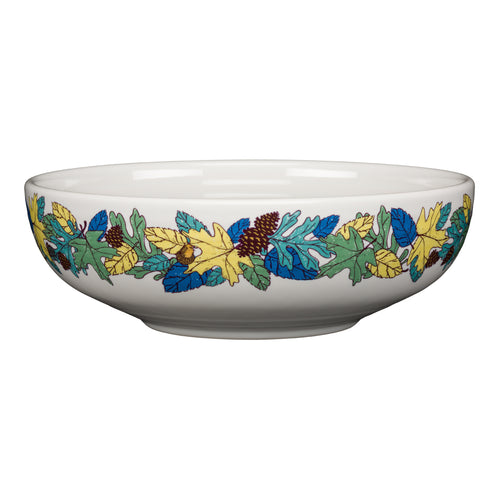 Blue Fall Fantasy Large Bistro Bowl, fiesta® Blue Fall Fantasy - Fiesta Factory Direct by Homer Laughlin China.  Dinnerware proudly made in the USA.