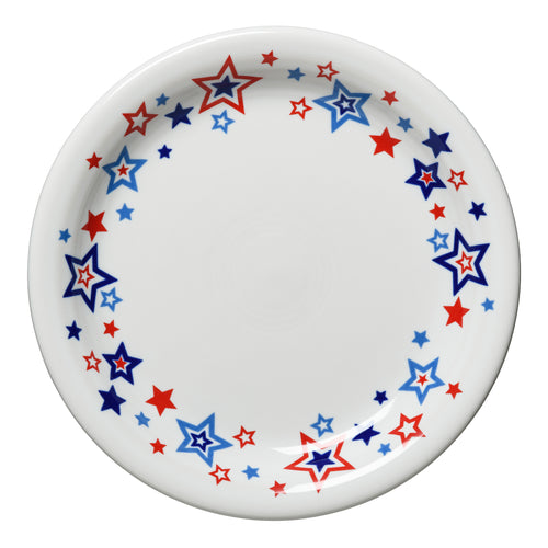 Americana Stars Appetizer Plate, fiesta® Americana Stars - Fiesta Factory Direct by Homer Laughlin China.  Dinnerware proudly made in the USA.