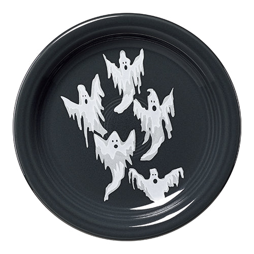 Ghosts Appetizer Plate, fiesta® halloween - Fiesta Factory Direct by Homer Laughlin China.  Dinnerware proudly made in the USA.