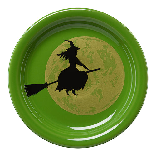 Harvest Moon Witch Appetizer Plate, fiesta® halloween - Fiesta Factory Direct by Homer Laughlin China.  Dinnerware proudly made in the USA.