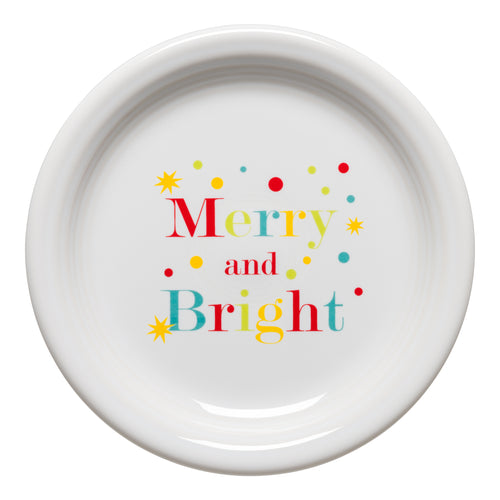 Merry and Bright Appetizer Plate
