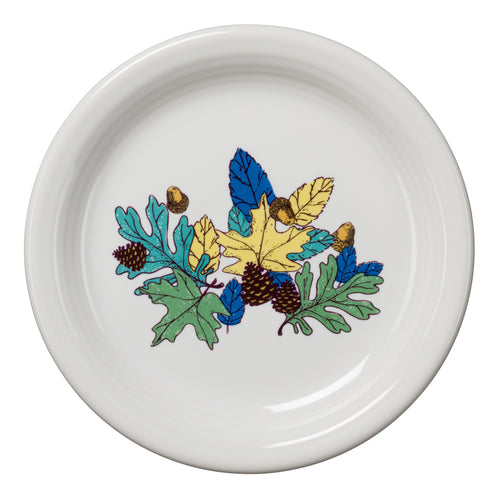 Blue Fall Fantasy Appetizer Plate, fiesta® Blue Fall Fantasy - Fiesta Factory Direct by Homer Laughlin China.  Dinnerware proudly made in the USA.