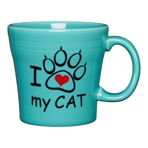 I Love My Cat Tapered Mug - Fiesta Factory Direct