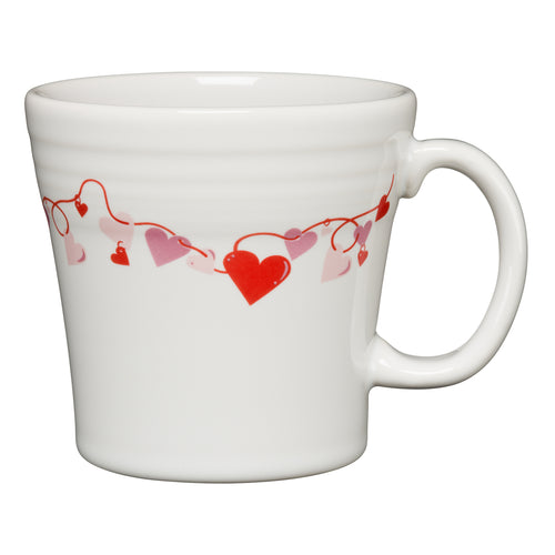 Valentine Tapered Mug, fiesta® Valentine - Fiesta Factory Direct by Homer Laughlin China.  Dinnerware proudly made in the USA.