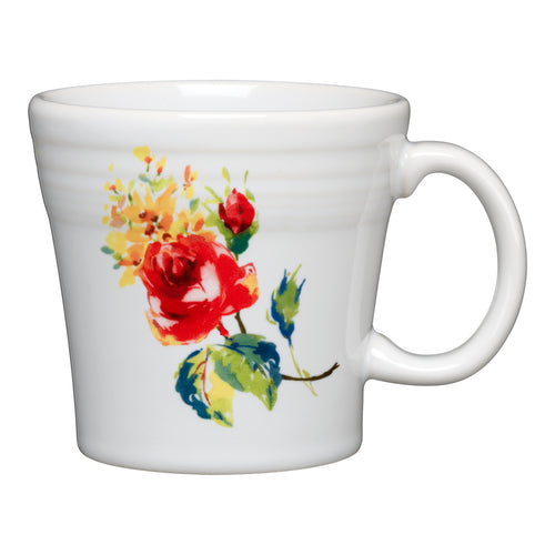 Tapered Mug Floral Bouquet, fiesta® Floral Bouquet - Fiesta Factory Direct by Homer Laughlin China.  Dinnerware proudly made in the USA.