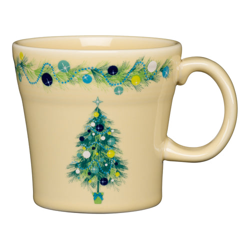 Tapered Mug Blue Christmas Tree, fiesta® Blue Christmas tree - Fiesta Factory Direct by Homer Laughlin China.  Dinnerware proudly made in the USA.