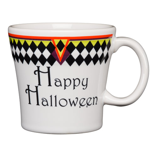 Harlequin Happy Halloween Tapered Mug