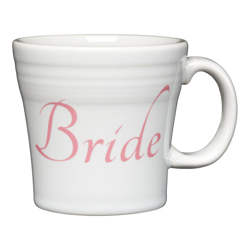 Tapered Mug Bride, fiesta® Bridal - Fiesta Factory Direct by Homer Laughlin China.  Dinnerware proudly made in the USA.