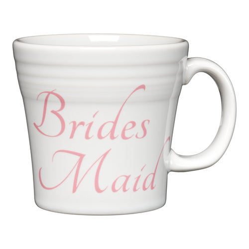 Tapered Mug Bridesmaid, fiesta® Bridal - Fiesta Factory Direct by Homer Laughlin China.  Dinnerware proudly made in the USA.