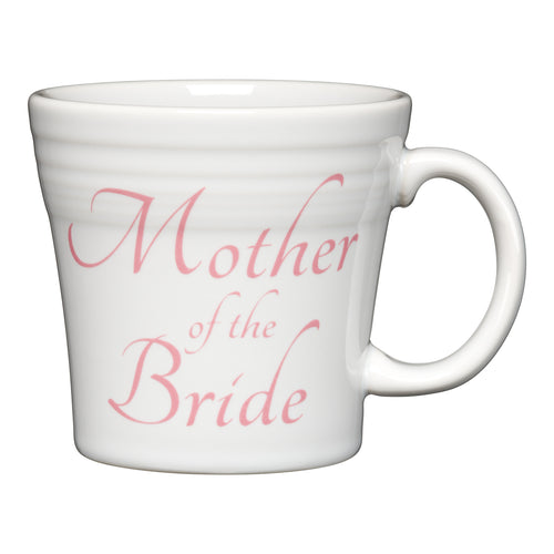 Tapered Mug Mother of the Bride, fiesta® Bridal - Fiesta Factory Direct by Homer Laughlin China.  Dinnerware proudly made in the USA.