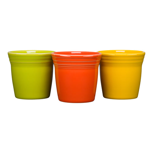 Flower Pot Set, countertop accessories - Fiesta Factory Direct by Homer Laughlin China.  Dinnerware proudly made in the USA.