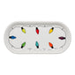 Fiesta®Lights Small Bread Tray, fiesta® Christmas Lights - Fiesta Factory Direct by Homer Laughlin China.  Dinnerware proudly made in the USA.