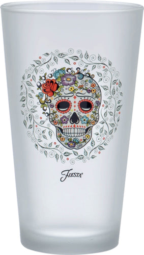 16 oz. Fiesta® SKULL AND VINE Sugar Frosted Cooler Set of 4