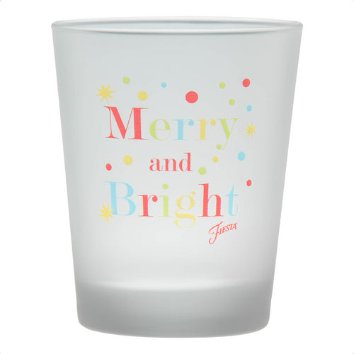 15 oz Fiesta® Merry & Bright Tapered Double Old Fashion – Set of 4