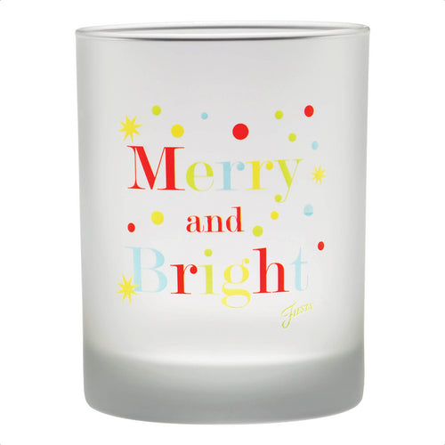 14 oz. Fiesta® Merry & Bright Double Old Fashion – Set of 4, Glassware - Fiesta Factory Direct by Homer Laughlin China.  Dinnerware proudly made in the USA.