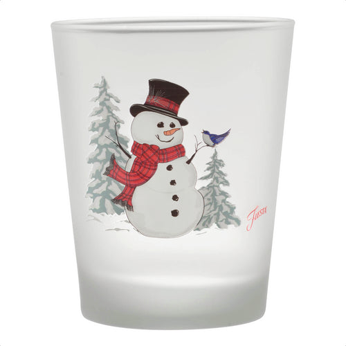15 oz. Fiesta® Snowman Tapered Double Old Fashion – Set of 4, Glassware - Fiesta Factory Direct by Homer Laughlin China.  Dinnerware proudly made in the USA.