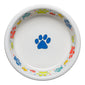 Scatter Print Dog Paws Bowl Extra Large
