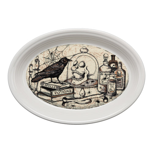 Mystical Halloween Large Oval Platter