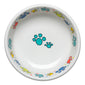 Scatter Print Cat Paws Bowl Small, fiesta® Pet Ware - Fiesta Factory Direct by Homer Laughlin China.  Dinnerware proudly made in the USA.