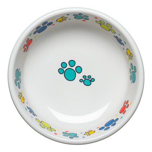 Scatter Print Cat Paws Bowl Small - Fiesta Factory Direct
