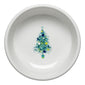 Blue Christmas Tree on White Small Bowl, fiesta® Blue Christmas tree - Fiesta Factory Direct by Homer Laughlin China.  Dinnerware proudly made in the USA.