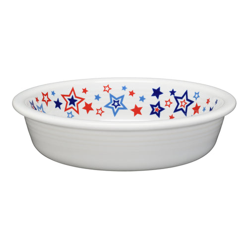 Americana Stars Bowl Medium, fiesta® Americana Stars - Fiesta Factory Direct by Homer Laughlin China.  Dinnerware proudly made in the USA.