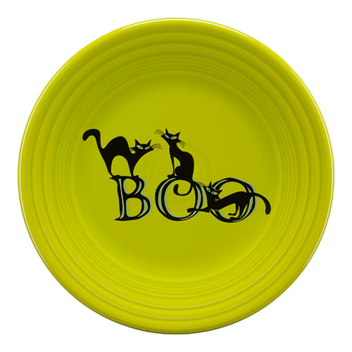 Trio of Boo Cats Luncheon Plate