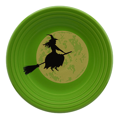 Harvest Moon Witch Luncheon Plate
