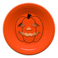 Spooky Glowing Pumpkin Luncheon Plate