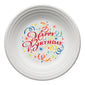 Happy Birthday Luncheon Plate