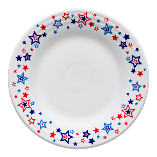 Americana Stars Luncheon Plate, fiesta® Americana Stars - Fiesta Factory Direct by Homer Laughlin China.  Dinnerware proudly made in the USA.