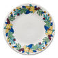 Blue Fall Fantasy Luncheon Plate