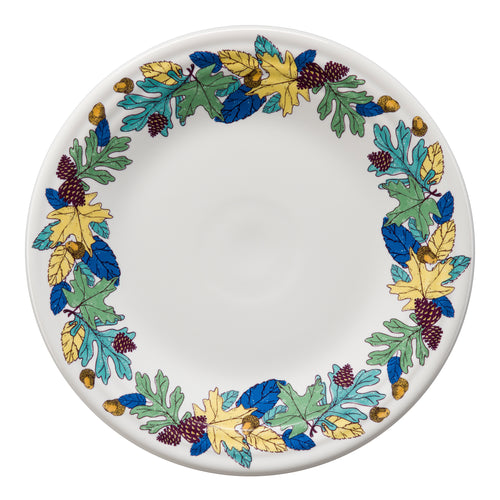 Blue Fall Fantasy Luncheon Plate, fiesta® Blue Fall Fantasy - Fiesta Factory Direct by Homer Laughlin China.  Dinnerware proudly made in the USA.