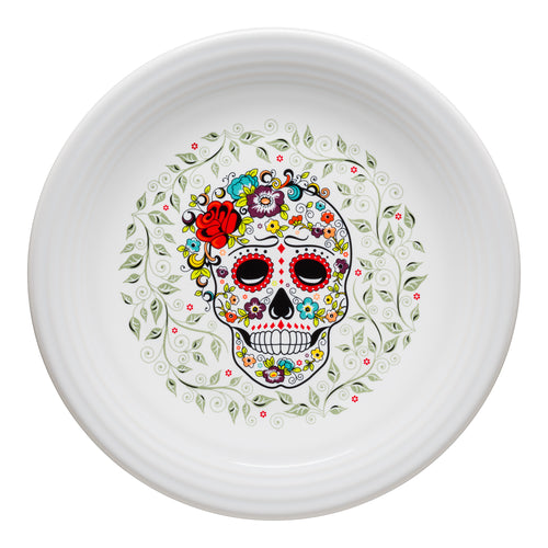 Chop Plate SKULL AND VINE Sugar, fiesta® SKULL AND VINE - Fiesta Factory Direct by Homer Laughlin China.  Dinnerware proudly made in the USA.