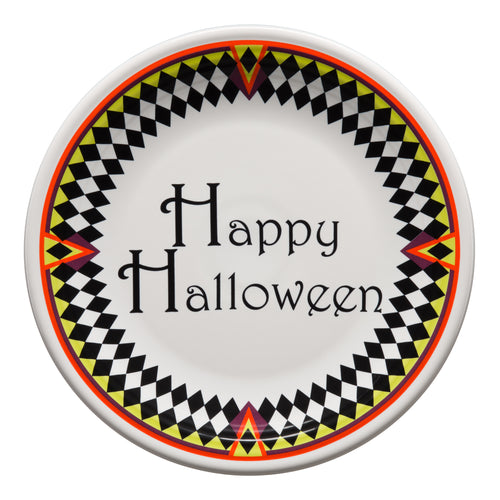 Harlequin Happy Halloween Chop Plate, fiesta® Harlequin Happy Halloween - Fiesta Factory Direct by Homer Laughlin China.  Dinnerware proudly made in the USA.