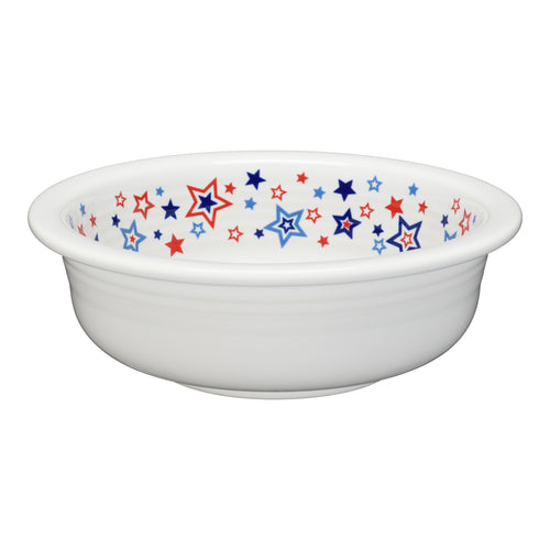 Americana Stars Bowl Large, fiesta® Americana Stars - Fiesta Factory Direct by Homer Laughlin China.  Dinnerware proudly made in the USA.