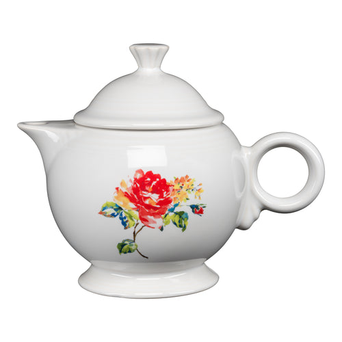 Teapot Floral Bouquet, fiesta® Floral Bouquet - Fiesta Factory Direct by Homer Laughlin China.  Dinnerware proudly made in the USA.