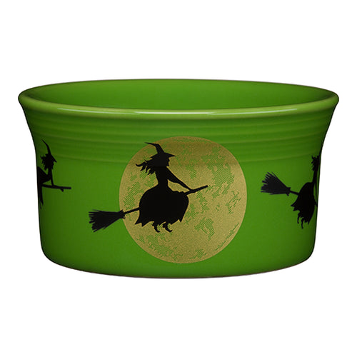 Harvest Moon Witch Ramekin, fiesta® halloween - Fiesta Factory Direct by Homer Laughlin China.  Dinnerware proudly made in the USA.
