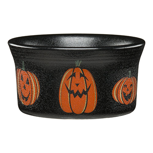 Trio of Happy Pumpkins Ramekin