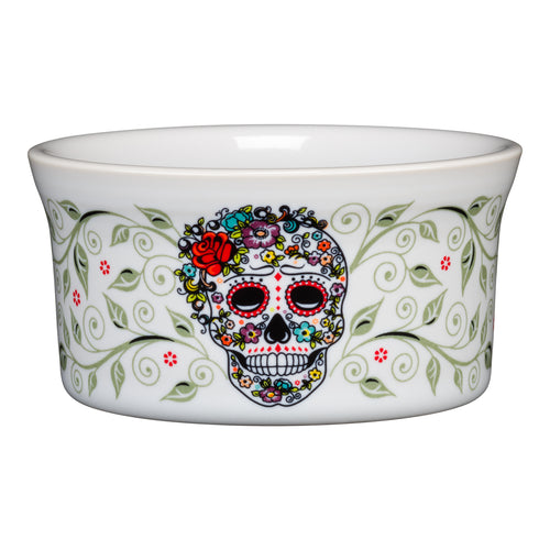 Ramekin SKULL AND VINE Sugar - Fiesta Factory Direct