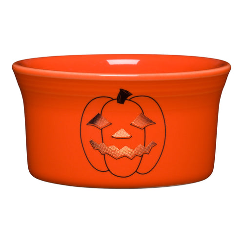 Spooky Glowing Pumpkin Ramekin
