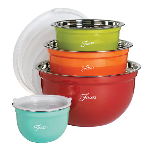Fiesta® 8 piece Mixing Bowl Set