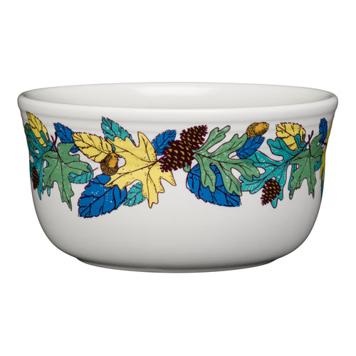 Blue Fall Fantasy Gusto Bowl, fiesta® Blue Fall Fantasy - Fiesta Factory Direct by Homer Laughlin China.  Dinnerware proudly made in the USA.